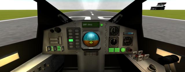 Kerbal Space Program: Кабина самолёта в версии 0.17.0