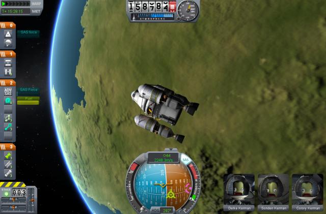 Kerbal Space Program: Основы интерфейса (2): NavBall