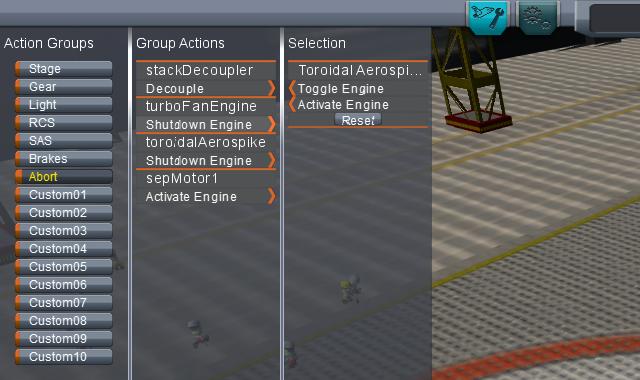 Kerbal Space Program: Настройка катапультирования кабины пилота