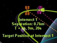 Kerbal Space Program: После совершения маневров корабли встретятся на расстоянии 700 метров