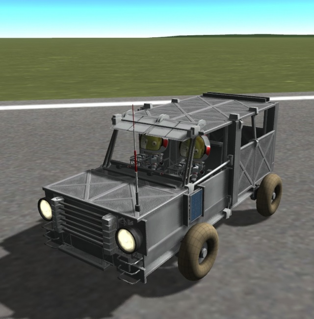 Kerbal Space Program: Land Rover Defender