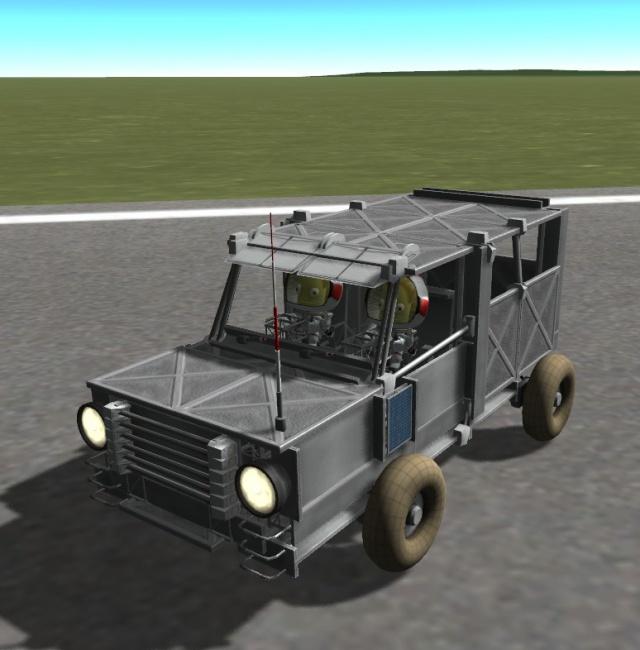 Kerbal Space Program: Land Rover Defender