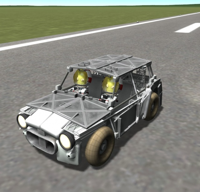 Kerbal Space Program: Mini Cooper