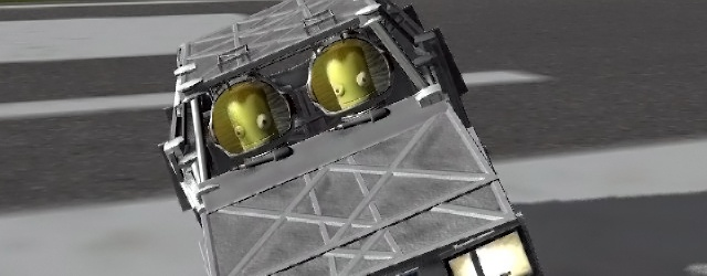 Kerbal Space Program: Покатаемся?