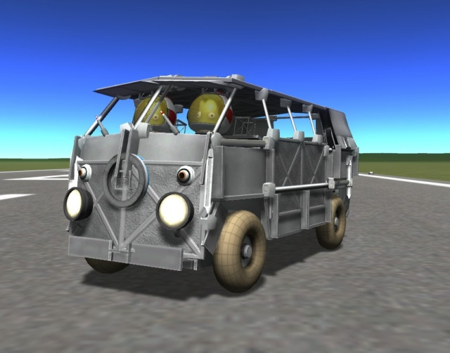 Kerbal Space Program: VW Kombi Van