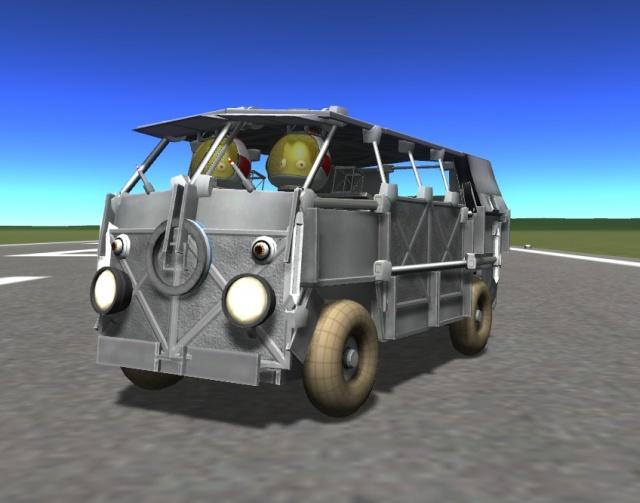 Kerbal Space Program: VW Kombi Van