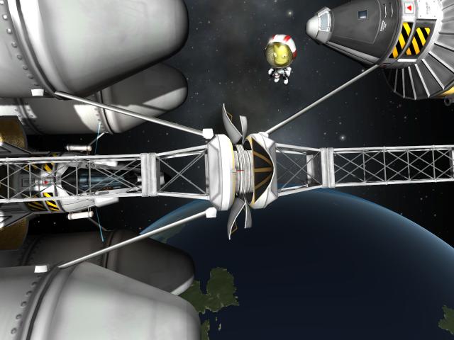 Kerbal Space Program: Успешная стыковка