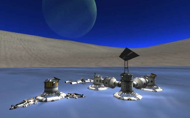 Kerbal Space Program: Плавучая база Geofley's Cove