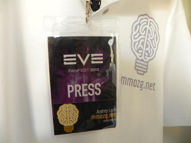 EVE-online: Fanfest-2013, день первый
