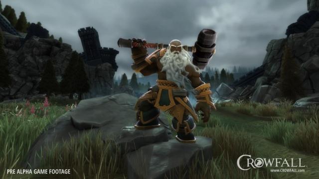 Crowfall: Верховный Кузнец. Пламя, железо и камень