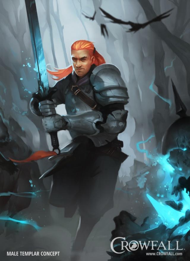 Crowfall: Храмовник. Молитва павшим
