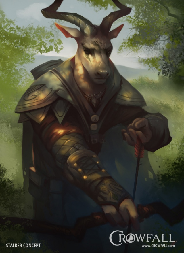 Crowfall: Ловчий. Без шума и пыли