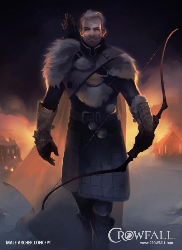 Crowfall: Рейнджер. Зимнее спасение
