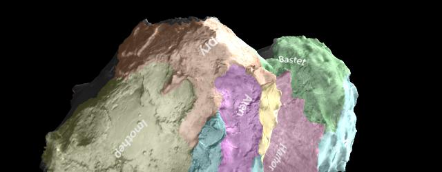 Космос: Комета Розетты со всех сторон