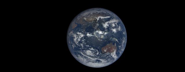 Космос: Эпик: вид на Землю