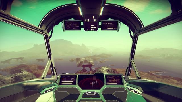 No Man's Sky: Корабли изнутри