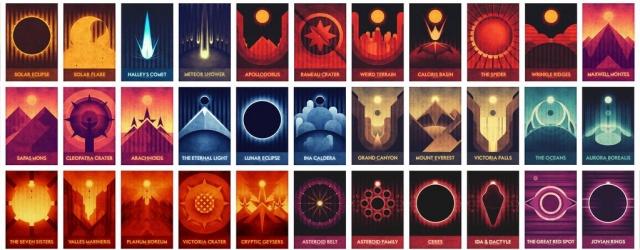 Космос: Лучшие места Солнечной