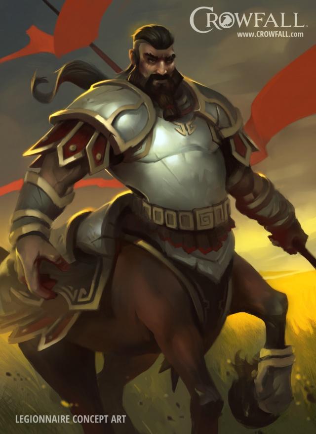 Crowfall: Легионер. Рожден быть Воином