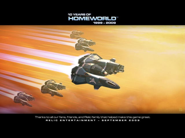 Блог им. Gelinger: Homeworld - The Journey