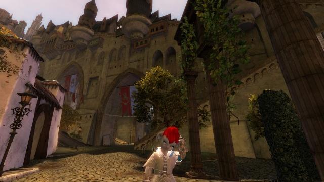 Guild Wars 2 асура почесывается