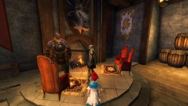 Guild Wars 2: Guld Wars 2 внутреннее убранство