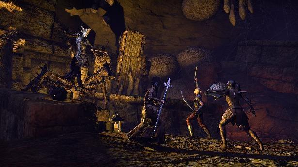 The Elder Scrolls Online: MMO-индустрия: пещера