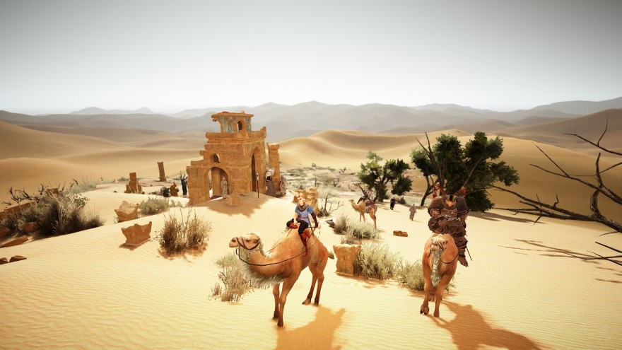 Black Desert: Вокруг Черной Пустыни