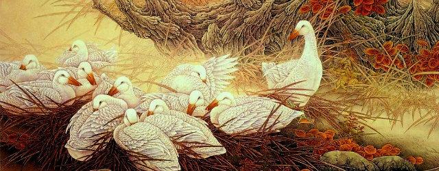 Зеркало для героя: Блог им. Chiarra: Страна зеленой травы: гуси-лебеди