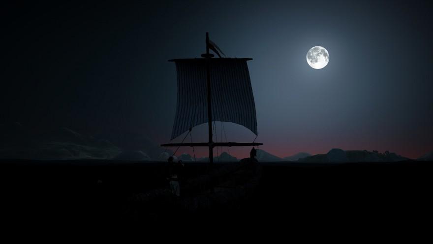 Black Desert: Танец света и тени: театр теней