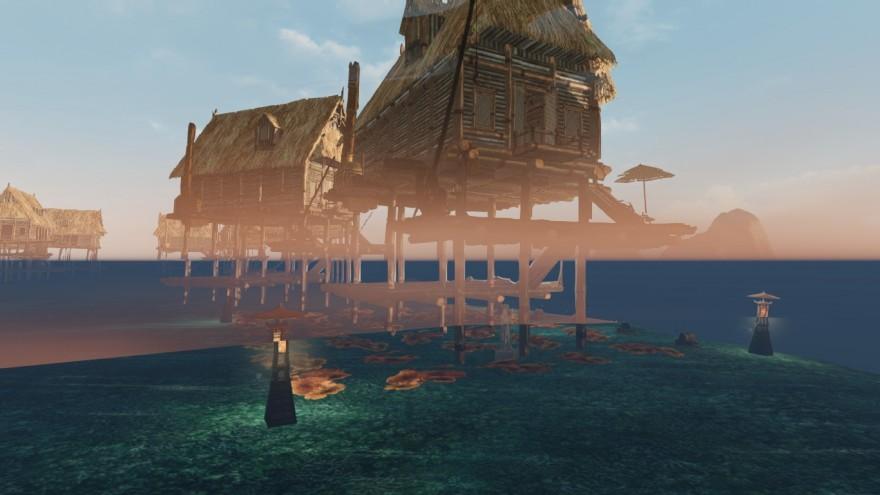 ArcheAge: Вода, как линия, что делит картину мира пополам