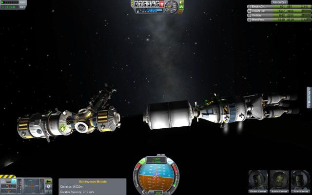 Kerbal Space Program: Долгожданный апдейт 0.18 - станции, стыковки, и многое другое!