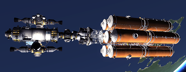 Kerbal Space Program: Люстра от Андре