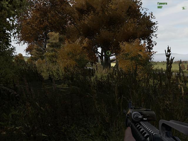 ARMA 2: Bump. То самое дерево