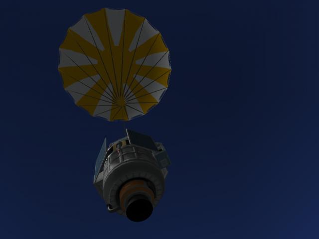 Kerbal Space Program: Chute is OK!