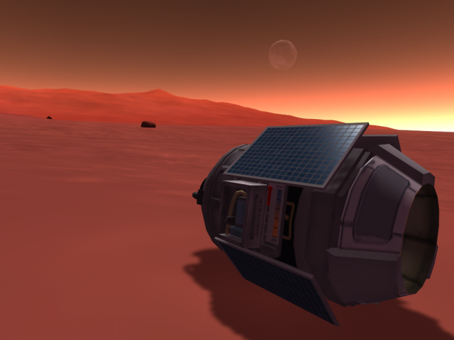 Kerbal Space Program: BPSP-2D остается загорать