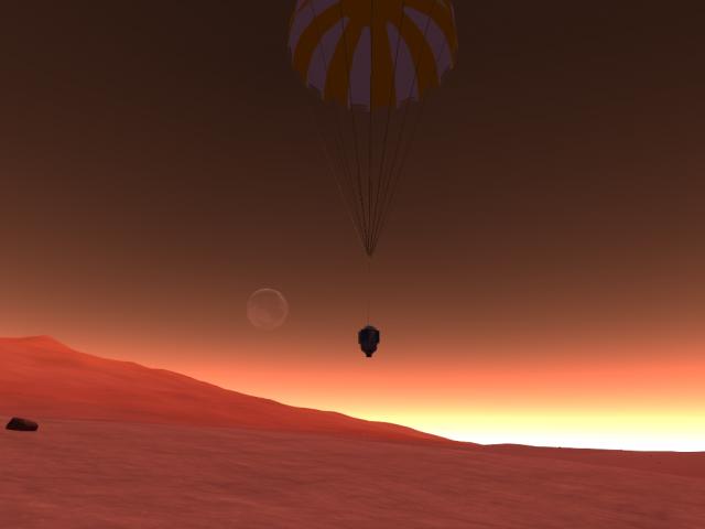 Kerbal Space Program: Айк над горизонтом. Шикарный вид