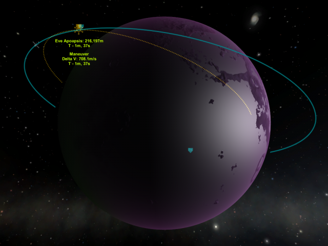 Kerbal Space Program: Только не остров, только не остров!