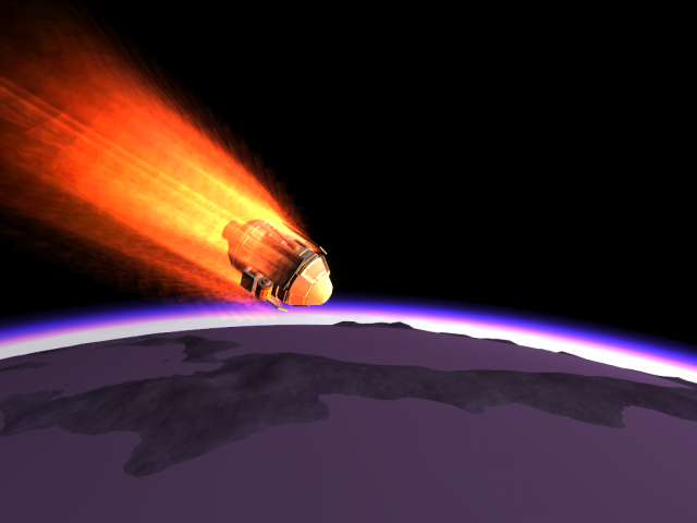 Kerbal Space Program: Fake heat