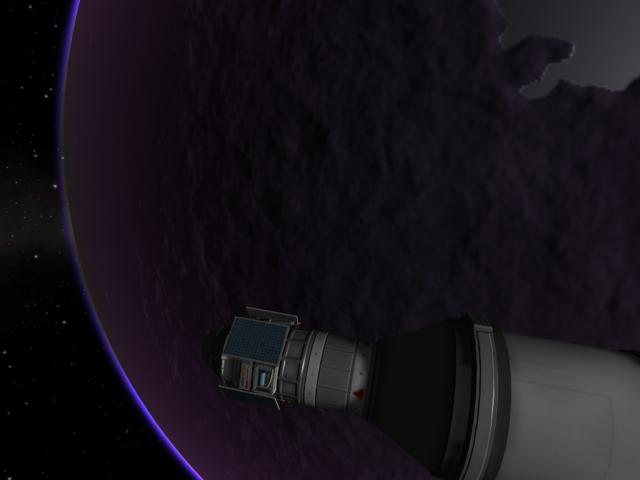 Kerbal Space Program: Линия терминатора - лучший выбор для космофотографа
