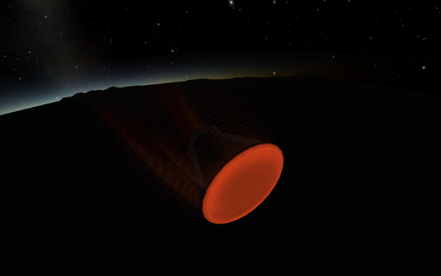 Kerbal Space Program: Reentry heat