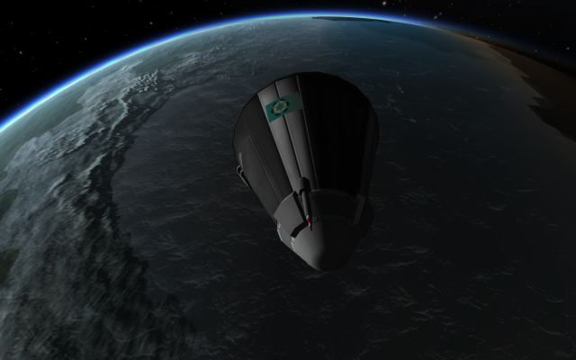 Kerbal Space Program: А мы летим на север