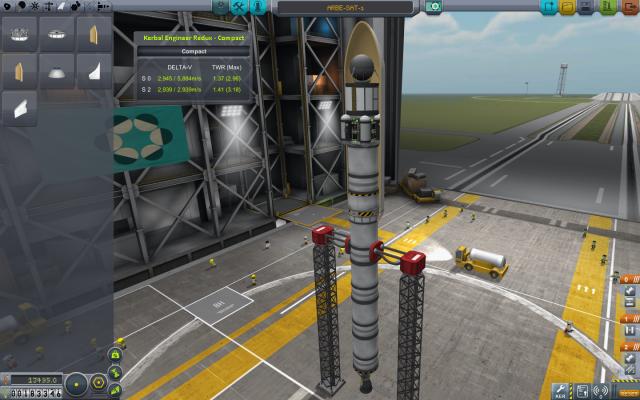 Kerbal Space Program: Эксперементальный спутник