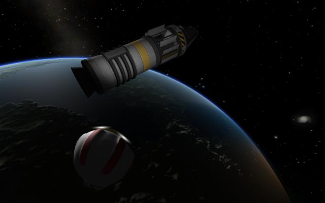 Kerbal Space Program: Сбор образцов в апогее