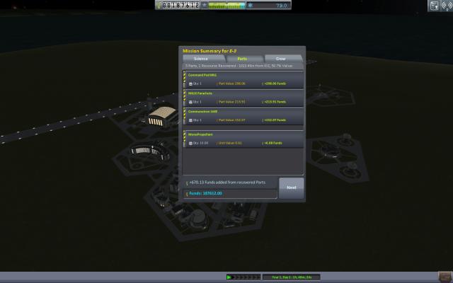 Kerbal Space Program: Эвакуация капсулы с Северного полюса