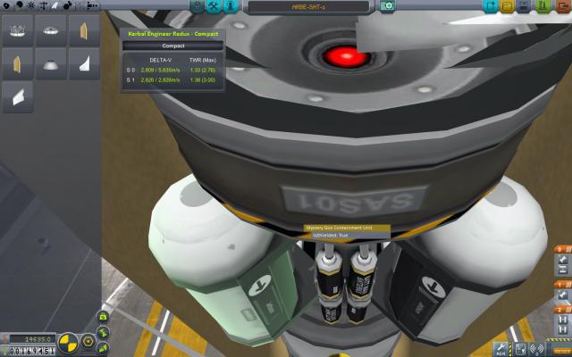Kerbal Space Program: Оболочка защищает содержимое от воздушного потока