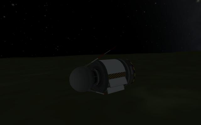 Kerbal Space Program: Остатки зонда таки долетели до поверхности