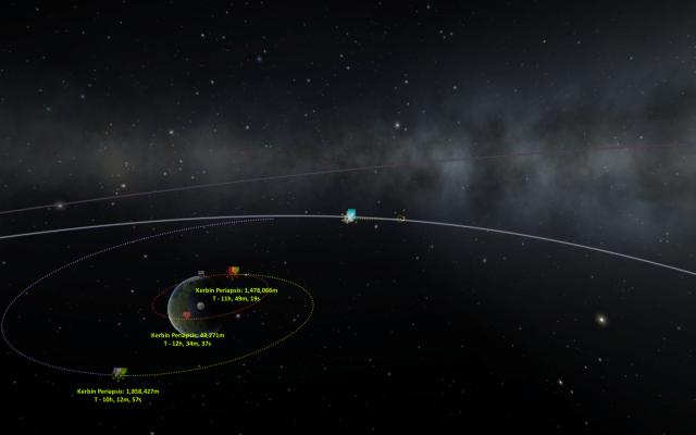 Kerbal Space Program: Обратный маршрут в три зажигания