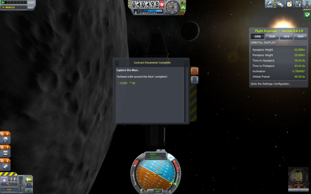 Kerbal Space Program: На шаг ближе к выполнению контракта