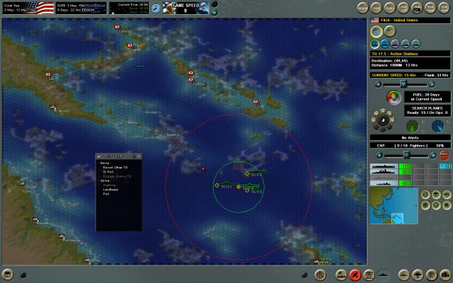 неММО: CAW - Карта в миссии, управление группами