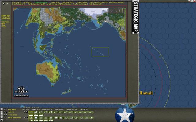 неММО: WITP AE - Глобальная карта